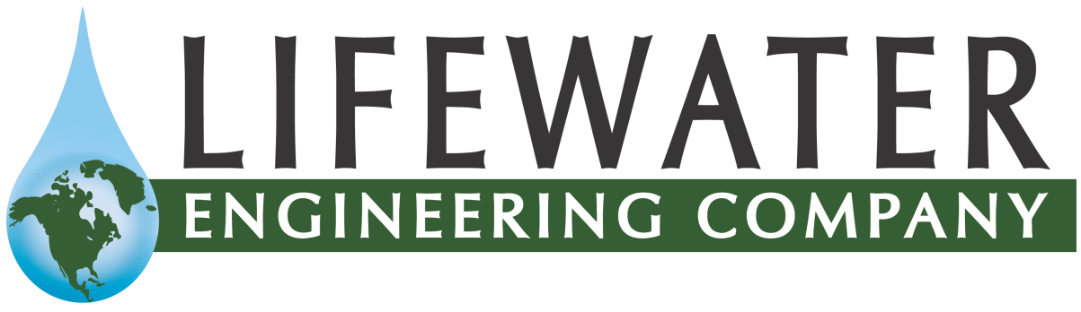 Lifewater Engineering Company Retina Logo